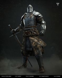 For Honor cinematic: Knight, Andrzej Marszalek on ArtStation at https://www.artstation.com/artwork/N2KDq