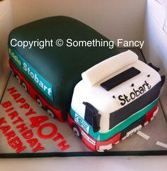 Eddie Stobart birthday cake .....