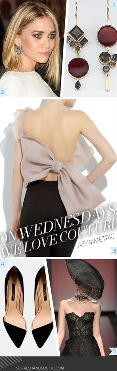 So Fresh & So Chic // On Wednesdays, We Love Couture // Asymmetric Style // #sofreshandsochic www.sofreshandsochic.com