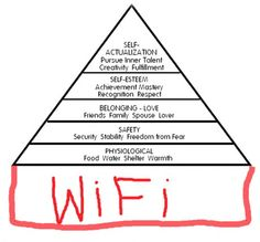 9GAG - Maslow's hierarchy of needs 2.0