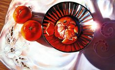 Presentation is Everything - pastel painting by Roberta Combs