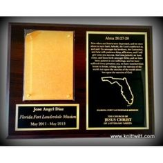 "Florida Mission, LDS Missionary Plaques - Use promo code ""BLESSED1"" for 50% off your order!"