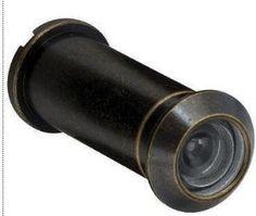 Door Viewer Scope Peephole Wide 160 Degree Dark Antique Brass LQ-B31900D-AB-U by Liberty. $3.78