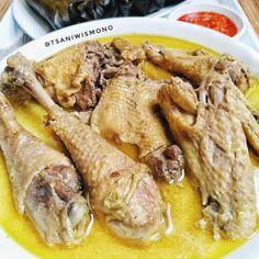 Chicken Mushroom Recipes, Chicken Recipes, Recipe Chicken, Cooking Recipes, Healthy Recipes, Indonesian Food, Indonesian Recipes, Diy Food, Food And Drink