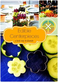 Edible Centerpiece Ideas: A tasty way to decorate Edible Centerpieces, Edible Arrangements, Centerpiece Ideas, Birthday Party Punches, Hawaian Party, Edible Food, Spa Party, Summer Parties, Recipes