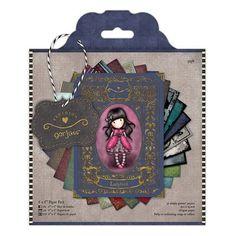 Docrafts Santoro Gorjuss Girls 6x6 paper pack