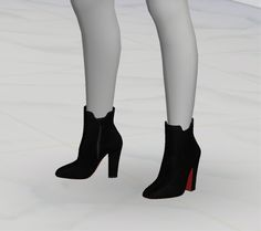 GreenApple18r — [ The Sims 4 Custom Content ] Christian Louboutin...