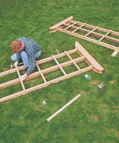 Build a Sturdy Arbor: A weekend's work and a few pieces of lumber yield a handsome home for vines. Learn how at http://www.finegardening.com/how-to/articles/build-an-arbor.aspx
