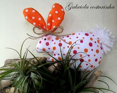 ♥♥ coelhinho ♥♥ by Gabriola Costurinha, via Flickr
