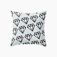 Diamonds Cushion - Green