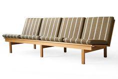 Børge Mogensen #2219 Fredericia Danish Modern Oak Sofa