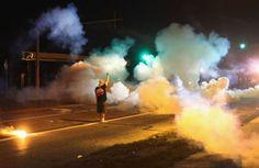 Tears Gas Ferguson