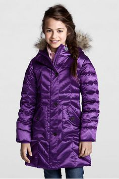 Girls' Classic Down Jacket | Eddie Bauer | Beautifully Bundled Up ...