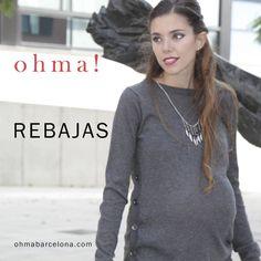 Rebajas en www.ohmabarcelona.com #ropapremama #modapremama #ropaparaembarazadas #modaparaembarazadas #maternitywear #maternitystyle #embarazo #embarazada #pregnant #pregnantcy #ohmabarcelona #sales #rebajas