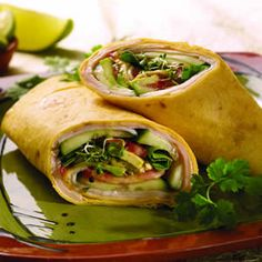 California Turkey Wraps