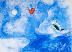 Aleko - 1942- Marc Chagall Marc Chagall, Stage Set, Paintings I Love, Make Your Mark, Fabric Wallpaper, French Artists, Matisse, Artist Art, Abstract Expressionism