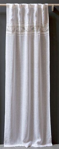 pom pom amelie linen curtains