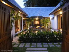 Villa rental in Ban Tai with swimming pool, Coconut Tropicana - private pool, walking, beach/lake nearby, balcony/terrace, air con, internet access, DVD