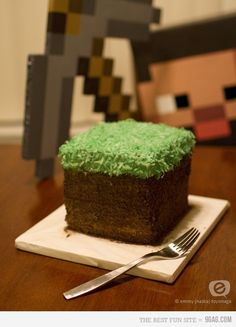 Minecraft Cake (for Livie's bday!!!)
