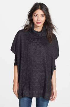 Nordstrom Textural Check Cover Up available at #Nordstrom