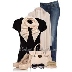 """""""BLACK T-SHIRT"""" by cindycook10 on Polyvore"""