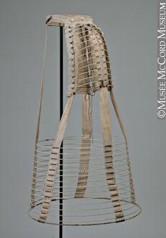 Hoop crinoline  1869-1872, 19th century  M20952  © McCord Museum