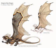 Emperor Ray Dragon by beastofoblivion on deviantART
