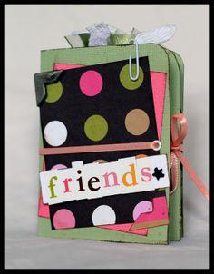Friends Mini File-Folder Scrapbook Album