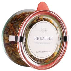 Soothing Bath Tea from Napa Valley Bath Co. Cool Packaging, Product Packaging, Packaging Design, Therapeutic Pillows, Weck Jars, Bath Tea, Beauty Spa, My Tea, Napa Valley