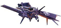 ガンダムTR-1[ヘイズル・ラー]クルーザー巡航形態:RX-121-1+FF-X29A ガンダムTR-1[ヘイズル・ラー]第二形態にギャプランの追加ブースターを装備した形態。クルーザーモードとも呼ばれる。(AOZ)