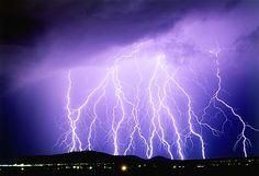Summer monsoon thunderstorm