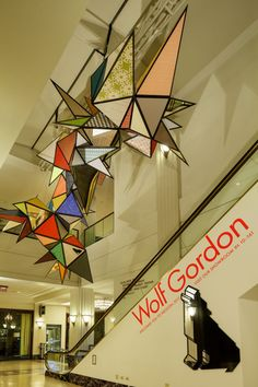 Wolf-Gordon's 'Escalator Canopy' On Display At Merchandise Mart For NeoCon (PHOTOS)