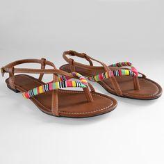 DIY Friendship Gladiator Sandals - Dream a Little Bigger
