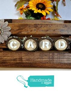 Rustic Card Box Wedding, Shabby Chic Wedding Decor, Wedding Card, Wedding Table, Brown Home Decor, Wedding Decorations, Table Decorations, Wood Crates, Rustic Wood