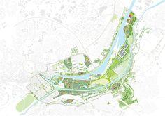 """Galería de MVRDV revela nuevas imágenes del masterplan de """"La Grande Mosaïque"""" de 600 hectáreas en Caen - 1"""