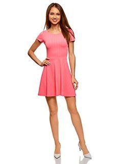 oodji Ultra Bekleidung fällt kleiner aus. Wir empfehlen Ihnen, eine Nummer größer als Ihre Normalgröße zu bestellen oder sich nach der oodji-Größentabelle zu richten. Kleidlänge (Größe M): 66,5cm Raffiniertes zweiteiliges Kleid mit leicht ausgestelltem Rock macht Ihre Looks attraktiv
