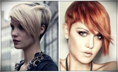 160 Women Haircuts for Short Hair For all face shape and age V Cut Hair, Curly Hair Cuts, Short Hair Cuts, Curly Hair Styles, Asymmetrical Hairstyles, Short Hairstyles For Women, Kahleesi Hair, Chin Length Hair, Beautiful Haircuts