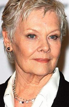 Dame Judi Dench was beyond wonderful in Marigold Hotel. And so graciously beautiful.