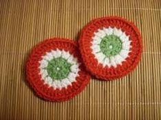"""Képtalálat a következőre: """"kokárda"""" Crochet Hats, Blog, March, Knitting Hats, Mac"""