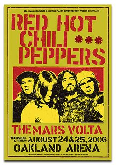 Red Hot Chili Peppers, 2006