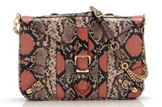 Rebecca Minkoff I usually don't like snake but.... this is cute- maybe it's the orange