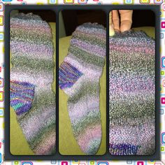 Socks are so much fun to knit!