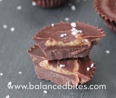 Chocolate Almond Butter Cups | fastPaleo Primal and Paleo Diet Recipes