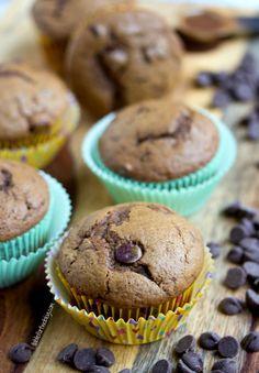 Espresso Chocolate Chip Muffins from www.tablefortwoblog.com