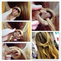 infiniti sign hair
