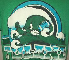 vintage logo. Love. #tulane