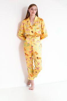 369620f1ff Karen Mabon illustrated silk sleepwear