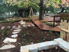 Tessa Rose Natural Playspaces Blogspot: Latest completed project 2015 - Sans Souci Community Pre-School