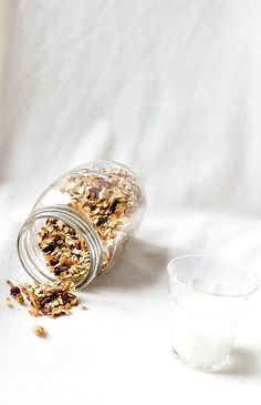 Granola with nuts and dried fruits by ashafsk, via Flickr