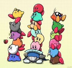 Kirby Towers by Sirometa.deviantart.com on @DeviantArt